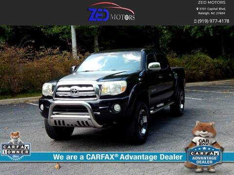 2007 Toyota Tacoma for sale at Zed Motors in Raleigh NC