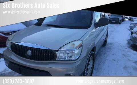 2005 Buick Rendezvous for sale at Six Brothers Auto Sales in Youngstown OH