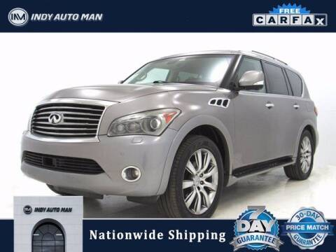 2012 Infiniti QX56 for sale at INDY AUTO MAN in Indianapolis IN