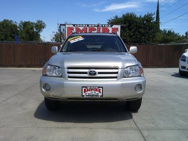2005 Toyota Highlander for sale at Empire Auto Sales in Modesto CA