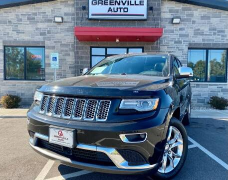 2015 Jeep Grand Cherokee for sale at GREENVILLE AUTO in Greenville WI