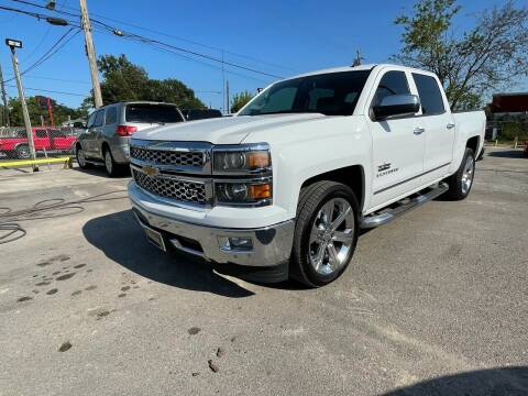 2014 Chevrolet Silverado 1500 for sale at RODRIGUEZ MOTORS CO. in Houston TX
