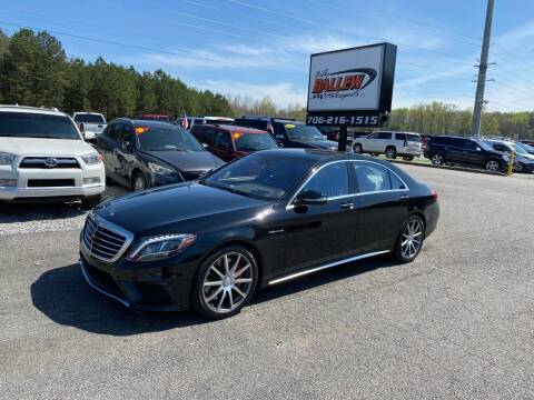 2015 Mercedes-Benz S-Class for sale at Billy Ballew Motorsports in Dawsonville GA
