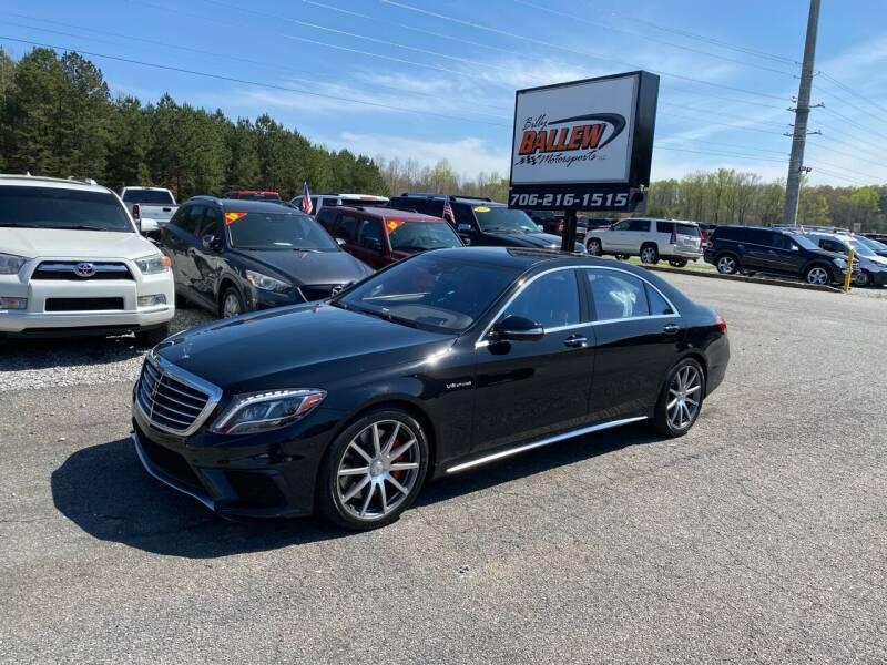 2015 Mercedes-Benz S-Class for sale at Billy Ballew Motorsports in Dawsonville GA