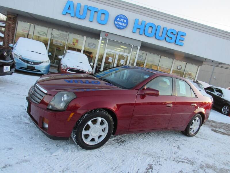 2004 Cadillac CTS for sale at Auto House Motors in Downers Grove IL