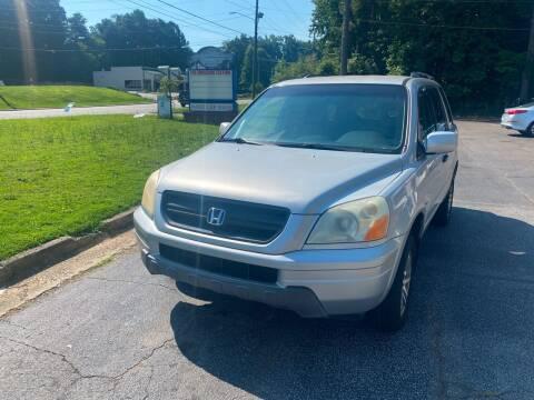 2004 Honda Pilot for sale at BRAVA AUTO BROKERS LLC in Clarkston GA