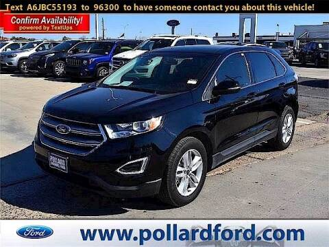 2018 Ford Edge for sale at South Plains Autoplex by RANDY BUCHANAN in Lubbock TX