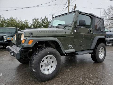 2006 Jeep Wrangler for sale at MX Motors LLC in Ashland MA