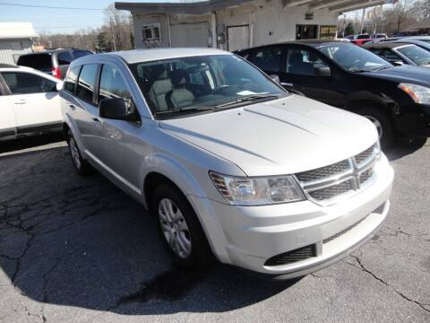 2014 Dodge Journey for sale at HAPPY TRAILS AUTO SALES LLC in Taylors SC