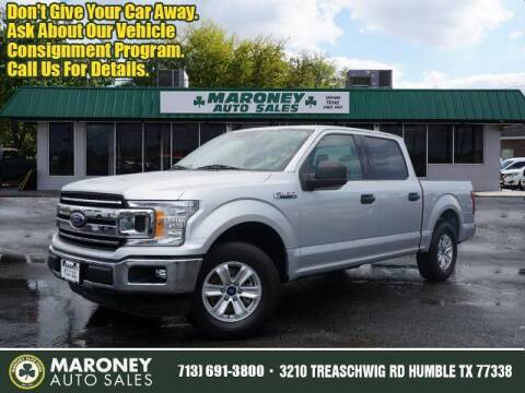 2018 Ford F-150 for sale at Maroney Auto Sales in Humble TX