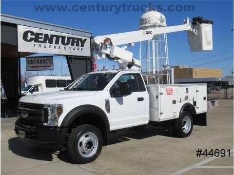 2018 Ford F-450 Super Duty for sale at CENTURY TRUCKS & VANS in Grand Prairie TX
