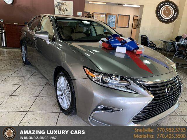 2017 Lexus ES 350 for sale at Amazing Luxury Cars in Snellville GA