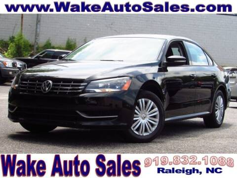 2014 Volkswagen Passat for sale at Wake Auto Sales Inc in Raleigh NC