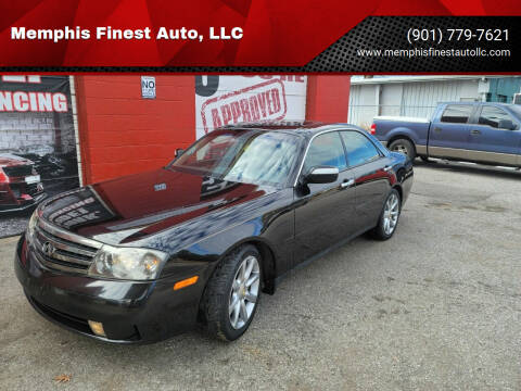 2004 Infiniti M45 for sale at Memphis Finest Auto, LLC in Memphis TN
