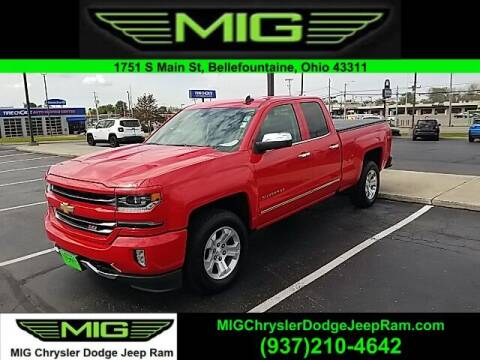 2016 Chevrolet Silverado 1500 for sale at MIG Chrysler Dodge Jeep Ram in Bellefontaine OH