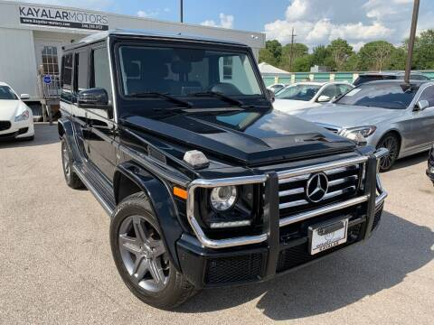2018 Mercedes-Benz G-Class for sale at KAYALAR MOTORS in Houston TX