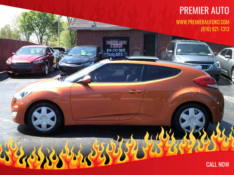 2012 Hyundai Veloster for sale at Premier Auto in Independence MO