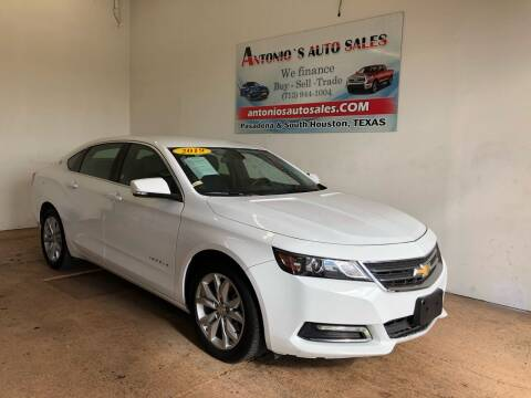 2020 Chevrolet Impala for sale at Antonio's Auto Sales - Antonio`s  3001 in Pasadena TX