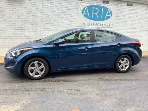 2014 Hyundai Elantra for sale at ARIA  AUTO  SALES in Raleigh NC