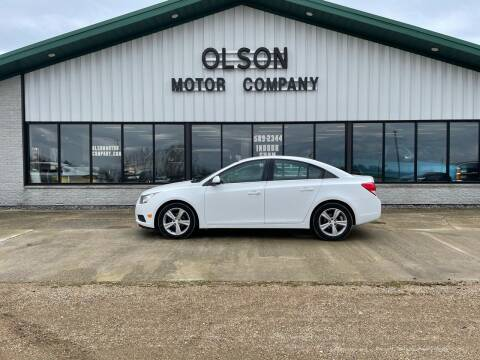 2014 Chevrolet Cruze for sale at Olson Motor Company in Morris MN