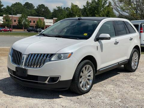 2013 Lincoln MKX for sale at DAB Auto World & Leasing in Wake Forest NC