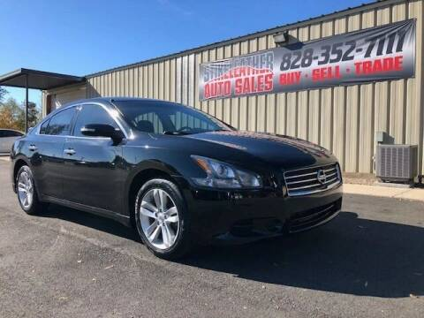 2014 Nissan Maxima for sale at Stikeleather Auto Sales in Taylorsville NC
