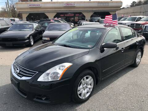 2012 Nissan Altima for sale at Mega Autosports in Chesapeake VA
