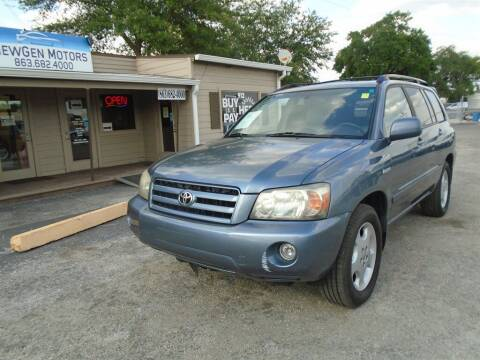 2005 Toyota Highlander for sale at New Gen Motors in Lakeland FL