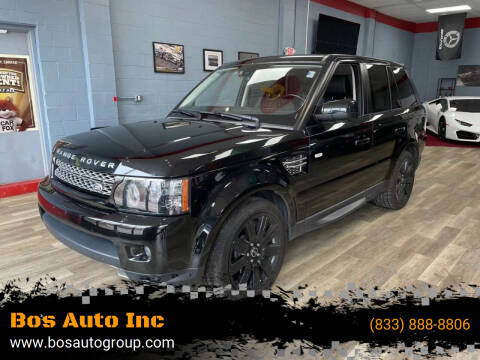 2012 Land Rover Range Rover Sport for sale at Bos Auto Inc in Quincy MA