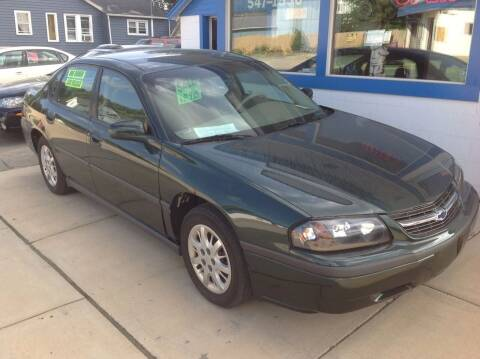 2002 Chevrolet Impala for sale at Sindic Motors in Waukesha WI