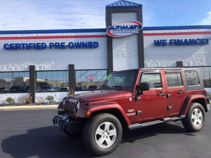 2007 Jeep Wrangler Unlimited for sale at Ultimate Auto Deals in Fort Wayne IN