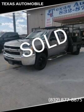 2008 Chevrolet Silverado 3500HD for sale at TEXAS AUTOMOBILE in Houston TX