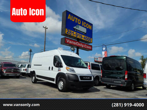 2019 RAM ProMaster Cargo for sale at Auto Icon in Houston TX