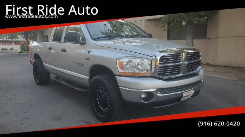 2006 Dodge Ram Pickup 1500 for sale at First Ride Auto in Sacramento CA