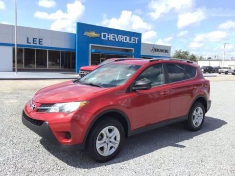 2015 Toyota RAV4 for sale at LEE CHEVROLET PONTIAC BUICK in Washington NC