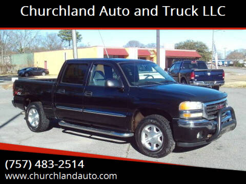2006 GMC Sierra 1500 for sale at Churchland Auto and Truck LLC in Portsmouth VA