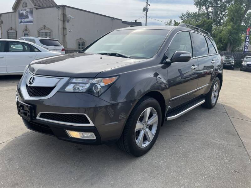 2011 Acura MDX for sale at T & G / Auto4wholesale in Parma OH