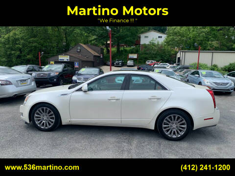 2008 Cadillac CTS for sale at Martino Motors in Pittsburgh PA