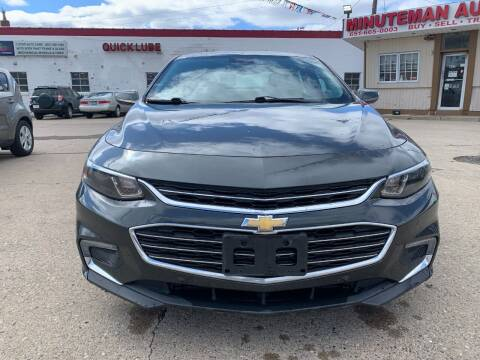 2016 Chevrolet Malibu for sale at Minuteman Auto Sales in Saint Paul MN
