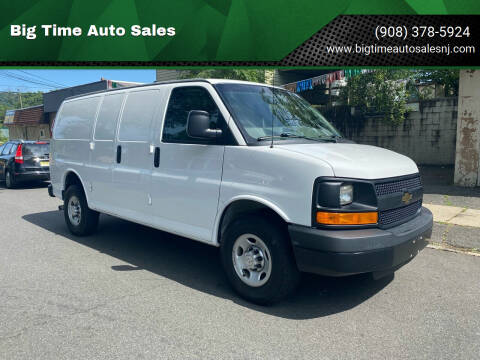 2016 Chevrolet Express Cargo for sale at Big Time Auto Sales in Vauxhall NJ