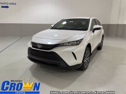 2021 Toyota Venza for sale at Crown Automotive of Lawrence Kansas in Lawrence KS
