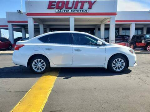 2019 Nissan Sentra for sale at EQUITY AUTO CENTER in Phoenix AZ