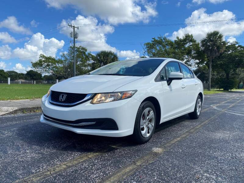 2015 Honda Civic for sale at Lamberti Auto Collection in Plantation FL