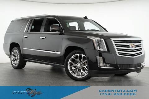 2016 Cadillac Escalade ESV for sale at JumboAutoGroup.com - Carsntoyz.com in Hollywood FL