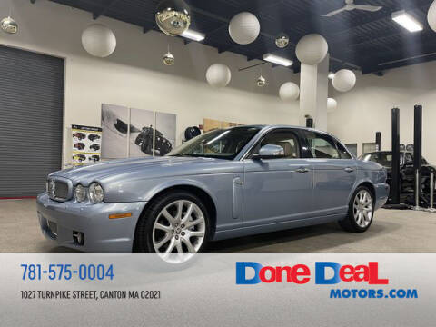 2008 Jaguar XJ-Series for sale at DONE DEAL MOTORS in Canton MA