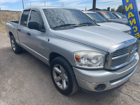 2008 Dodge Ram Pickup 1500 for sale at BELOW BOOK AUTO SALES in Idaho Falls ID