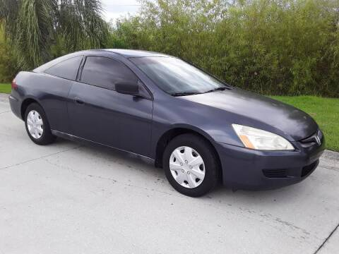 2003 Honda Accord for sale at Coastal Car Brokers LLC in Tampa FL