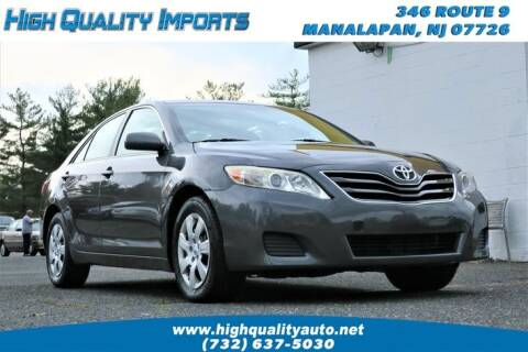 2010 Toyota Camry for sale at High Quality Imports in Manalapan NJ