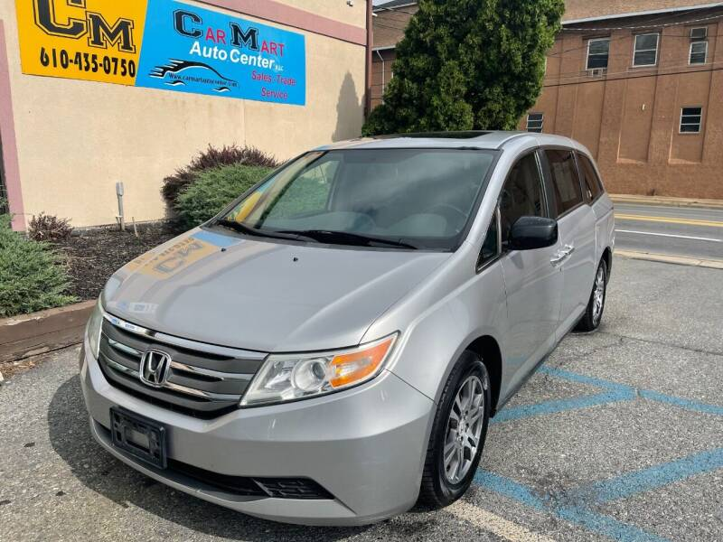 2012 Honda Odyssey for sale at Car Mart Auto Center II, LLC in Allentown PA