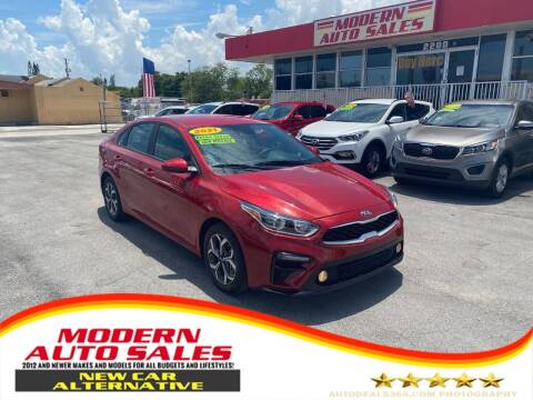 2021 Kia Forte for sale at Modern Auto Sales in Hollywood FL